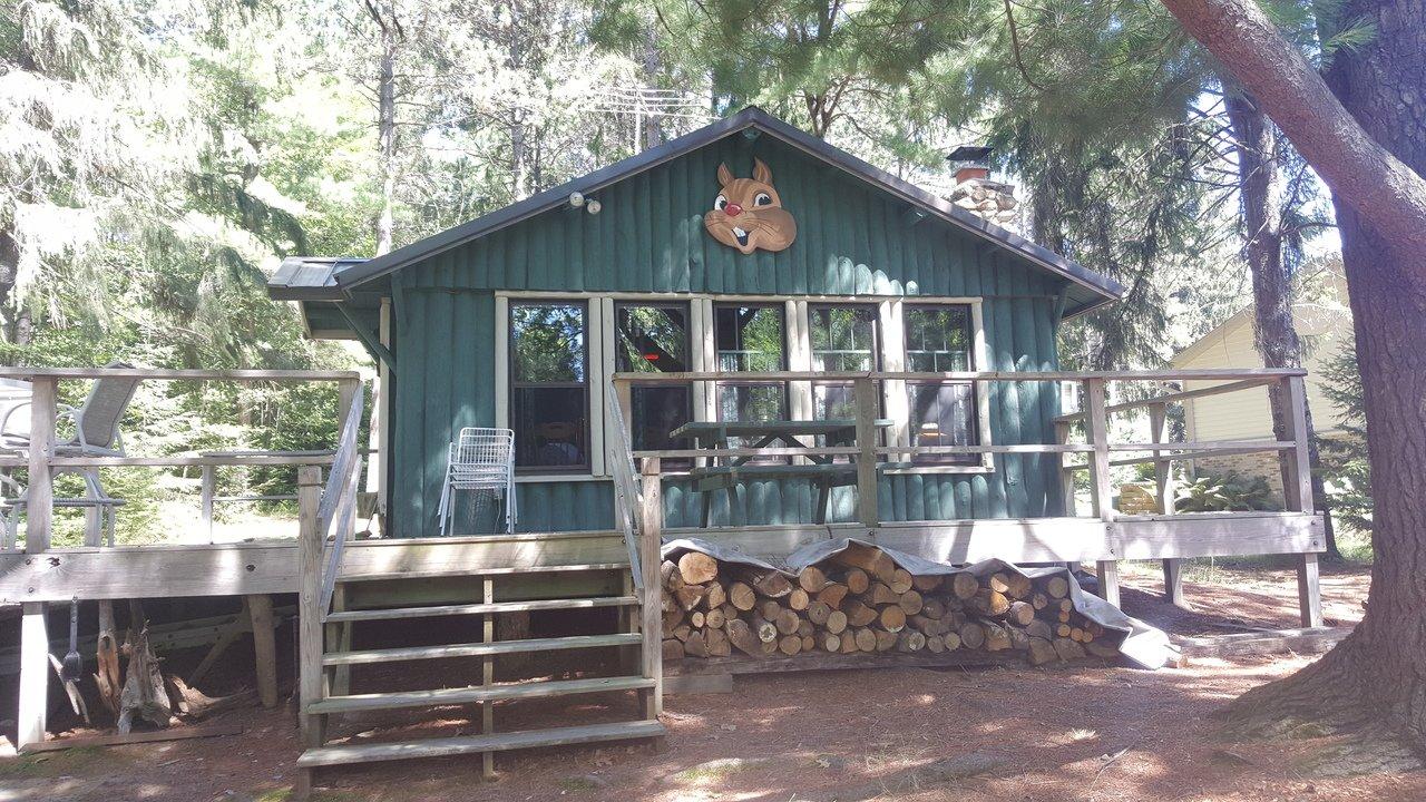 Funk's Chipmunk Retreat Cabin Rentals Rhinelander WI